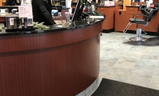 Commercial cabinets barber shop twin cities