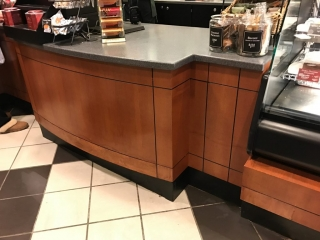 Commercial custom cabinets