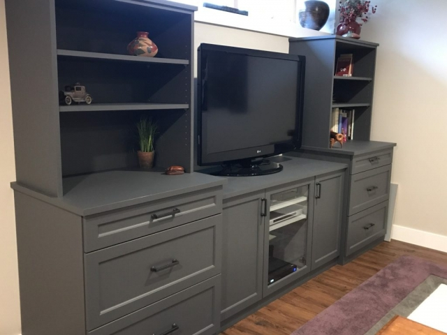 Custom cabinets woodworks