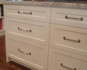 Custom cabinets and drawer design