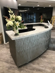 Commercial cabinets and reception office